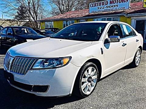 2012 Lincoln MKZ for sale in Bear, DE