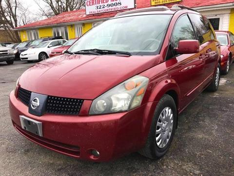 2006 Nissan Quest for sale at Certified Motors in Bear DE