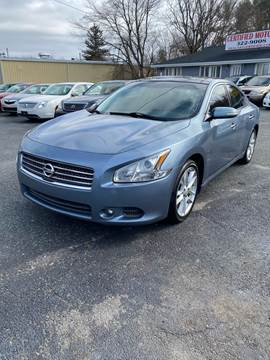 2011 Nissan Maxima 3.5 SV for sale at Certified Motors in Bear DE