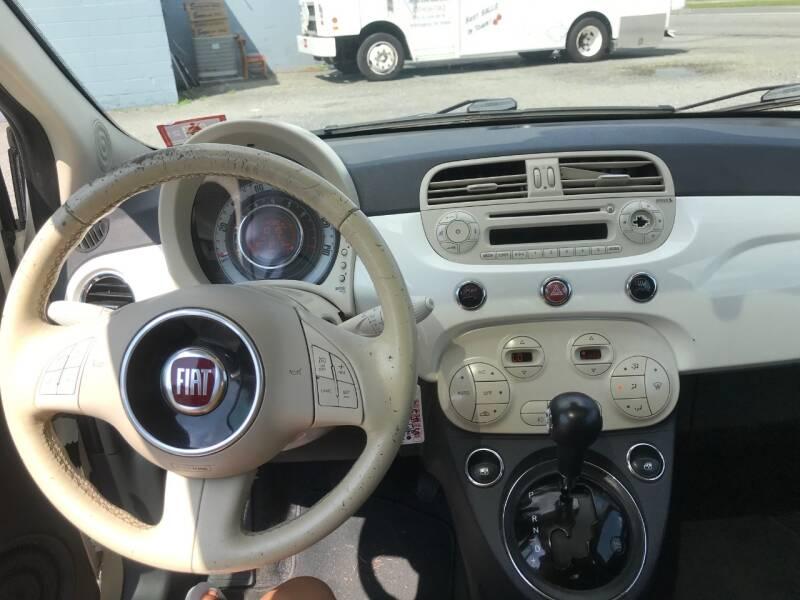 2013 FIAT 500 Lounge 2dr Hatchback - Bear DE