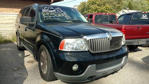 2003 lincoln navigator for sale. Black Bedroom Furniture Sets. Home Design Ideas