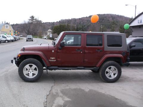 2008 Jeep Wrangler Unlimited for sale in Hardwick, VT