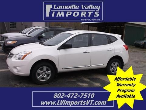 2013 Nissan Rogue for sale in Hardwick, VT