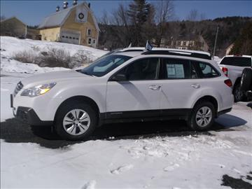2013 Subaru Outback for sale in Hardwick, VT