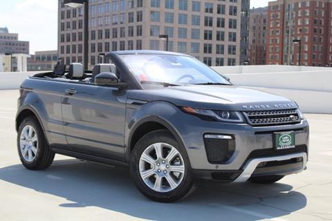2018 Land Rover Range Rover Evoque Convertible For Sale In Alexandria, VA