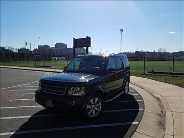 2016 Land Rover LR4 for sale in Alexandria, VA