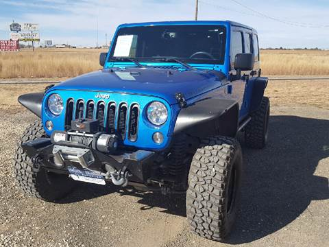 2015 Jeep Wrangler Unlimited for sale at South Plains Autoplex by RANDY BUCHANAN in Lubbock TX