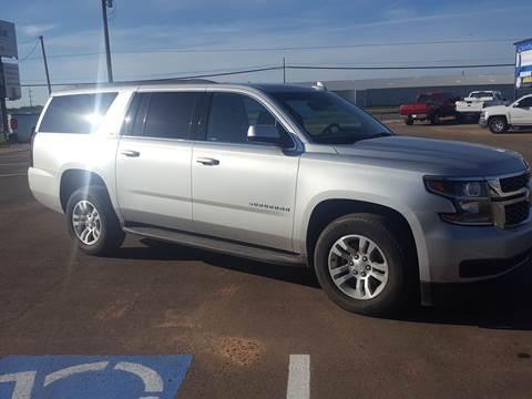 2017 Chevrolet Suburban for sale at South Plains Autoplex by RANDY BUCHANAN in Lubbock TX