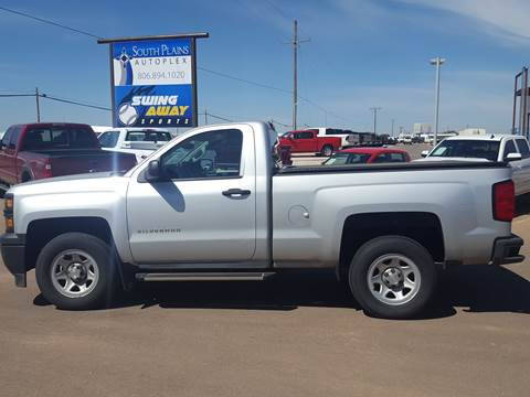 2014 Chevrolet Silverado 1500 for sale at South Plains Autoplex by RANDY BUCHANAN in Lubbock TX
