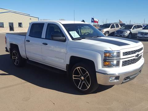 2015 Chevrolet Silverado 1500 for sale at South Plains Autoplex by RANDY BUCHANAN in Lubbock TX
