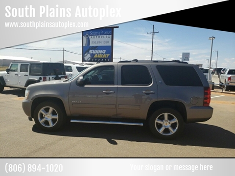 2014 Chevrolet Tahoe for sale at South Plains Autoplex by RANDY BUCHANAN in Lubbock TX