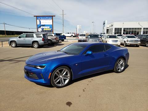 2018 Chevrolet Camaro for sale at South Plains Autoplex by RANDY BUCHANAN in Lubbock TX
