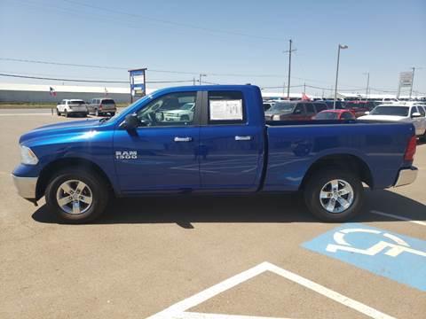 2017 RAM Ram Pickup 1500 for sale at South Plains Autoplex by RANDY BUCHANAN in Lubbock TX