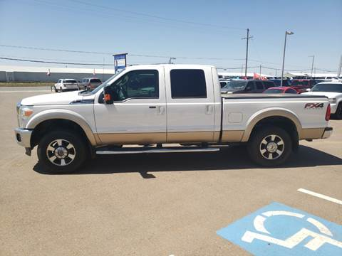 2013 Ford F-250 Super Duty for sale at South Plains Autoplex by RANDY BUCHANAN in Lubbock TX