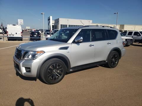 2018 Nissan Armada for sale at South Plains Autoplex by RANDY BUCHANAN in Lubbock TX