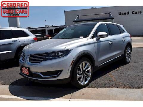 2016 Lincoln MKX for sale at South Plains Autoplex by RANDY BUCHANAN in Lubbock TX