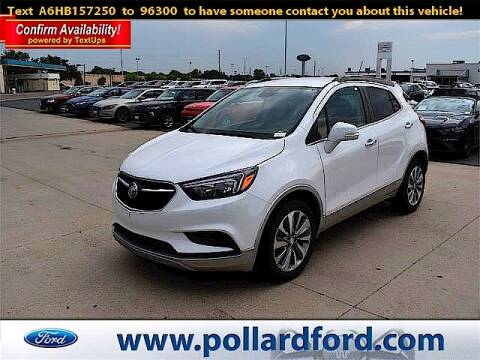 2017 Buick Encore for sale at South Plains Autoplex by RANDY BUCHANAN in Lubbock TX