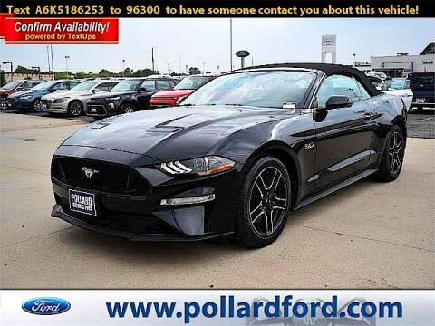 2019 Ford Mustang for sale at South Plains Autoplex by RANDY BUCHANAN in Lubbock TX