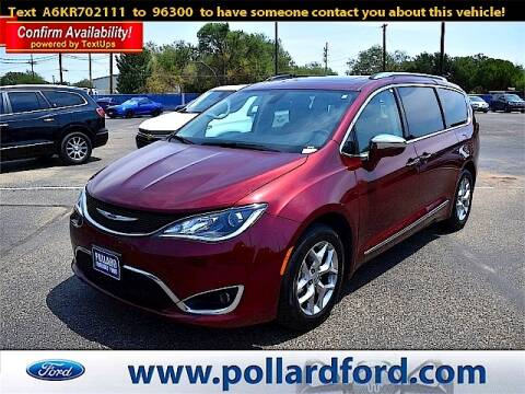 2019 Chrysler Pacifica for sale at South Plains Autoplex by RANDY BUCHANAN in Lubbock TX