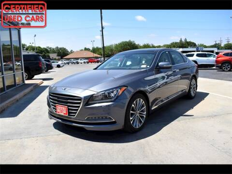 2017 Genesis G80 for sale at South Plains Autoplex by RANDY BUCHANAN in Lubbock TX