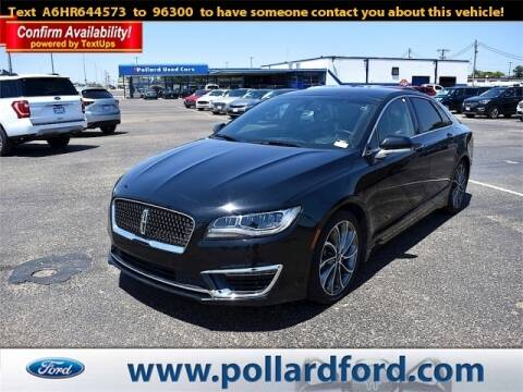 2017 Lincoln MKZ for sale at South Plains Autoplex by RANDY BUCHANAN in Lubbock TX