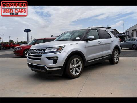 2019 Ford Explorer for sale at South Plains Autoplex by RANDY BUCHANAN in Lubbock TX