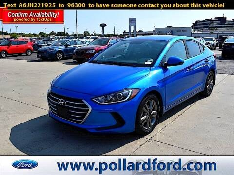 2018 Hyundai Elantra for sale at South Plains Autoplex by RANDY BUCHANAN in Lubbock TX