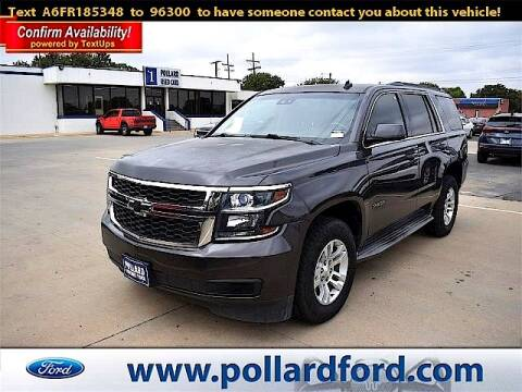 2015 Chevrolet Tahoe for sale at South Plains Autoplex by RANDY BUCHANAN in Lubbock TX