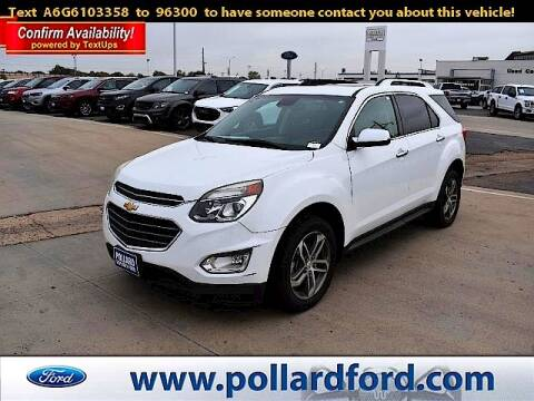 2016 Chevrolet Equinox for sale at South Plains Autoplex by RANDY BUCHANAN in Lubbock TX