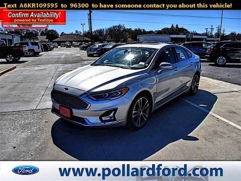 2019 Ford Fusion for sale at South Plains Autoplex by RANDY BUCHANAN in Lubbock TX