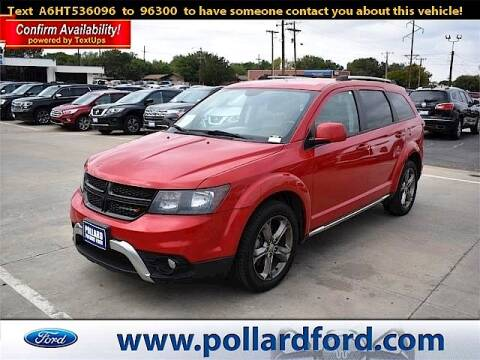 2017 Dodge Journey for sale at South Plains Autoplex by RANDY BUCHANAN in Lubbock TX