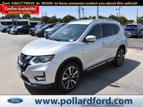 2019 Nissan Rogue for sale at South Plains Autoplex by RANDY BUCHANAN in Lubbock TX