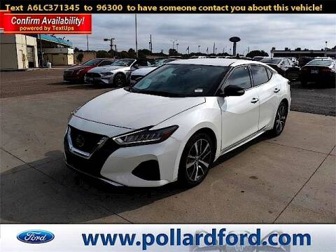 2020 Nissan Maxima for sale at South Plains Autoplex by RANDY BUCHANAN in Lubbock TX