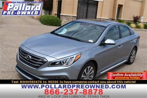 2017 Hyundai Sonata for sale at South Plains Autoplex by RANDY BUCHANAN in Lubbock TX