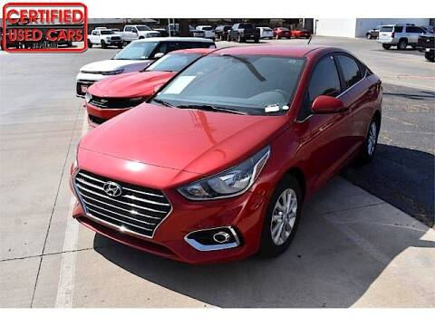 2020 Hyundai Accent for sale at South Plains Autoplex by RANDY BUCHANAN in Lubbock TX