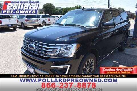 2019 Ford Expedition MAX for sale at South Plains Autoplex by RANDY BUCHANAN in Lubbock TX
