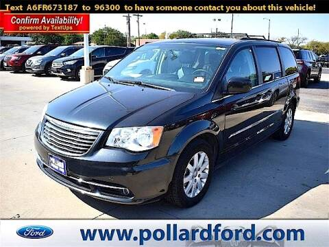 2015 Chrysler Town and Country for sale at South Plains Autoplex by RANDY BUCHANAN in Lubbock TX