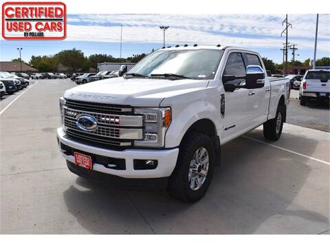 2018 Ford F-250 Super Duty for sale at South Plains Autoplex by RANDY BUCHANAN in Lubbock TX
