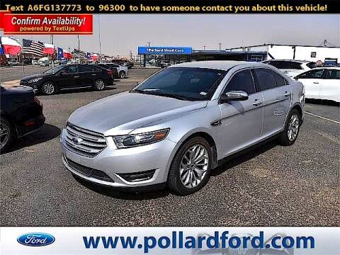 2015 Ford Taurus for sale at South Plains Autoplex by RANDY BUCHANAN in Lubbock TX