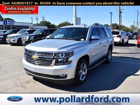 2018 Chevrolet Tahoe for sale at South Plains Autoplex by RANDY BUCHANAN in Lubbock TX