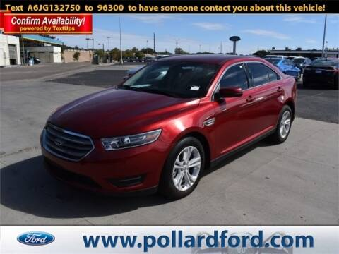 2018 Ford Taurus for sale at South Plains Autoplex by RANDY BUCHANAN in Lubbock TX