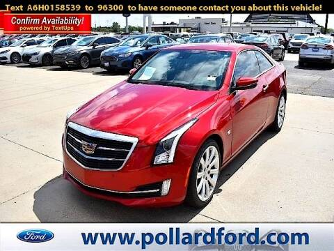2017 Cadillac ATS for sale at South Plains Autoplex by RANDY BUCHANAN in Lubbock TX