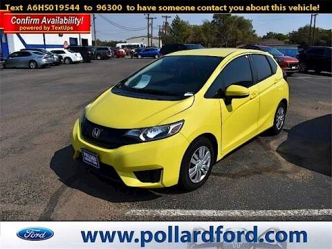 2017 Honda Fit for sale at South Plains Autoplex by RANDY BUCHANAN in Lubbock TX