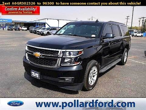2016 Chevrolet Suburban for sale at South Plains Autoplex by RANDY BUCHANAN in Lubbock TX