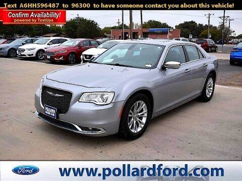 2017 Chrysler 300 for sale at South Plains Autoplex by RANDY BUCHANAN in Lubbock TX