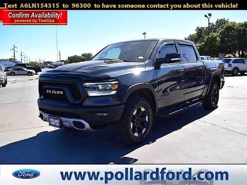 2020 RAM Ram Pickup 1500 for sale at South Plains Autoplex by RANDY BUCHANAN in Lubbock TX