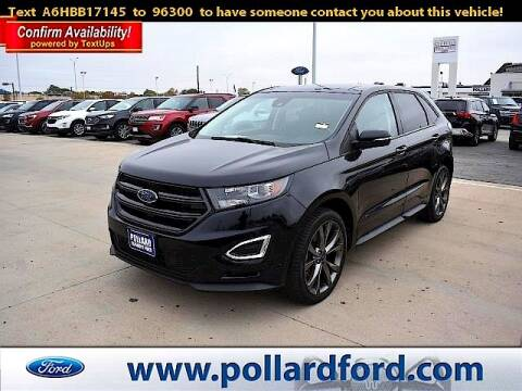 2017 Ford Edge for sale at South Plains Autoplex by RANDY BUCHANAN in Lubbock TX