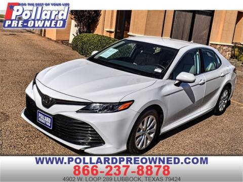 2019 Toyota Camry for sale at South Plains Autoplex by RANDY BUCHANAN in Lubbock TX