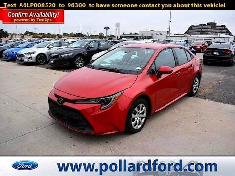 2020 Toyota Corolla for sale at South Plains Autoplex by RANDY BUCHANAN in Lubbock TX