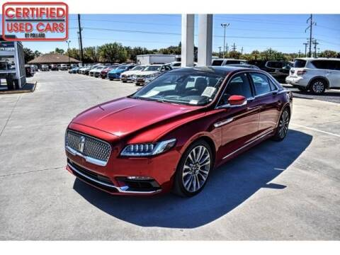 2017 Lincoln Continental for sale at South Plains Autoplex by RANDY BUCHANAN in Lubbock TX